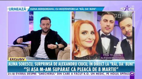 Alina Sorescu, mărturisiri neșateptate de Ziua Femeii: Soțul meu este plecat din țară