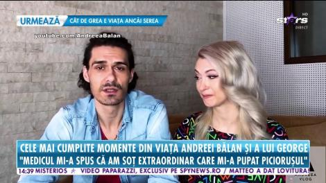 """George Burcea, soțul Andreei Bălan, despre cele mai cumplite momente prin care a trecut: """"Te uiți la fiica care e bine și în partea cealaltă te uiți că-ți moare nevasta"""""""