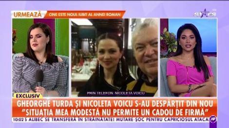 Gheorghe Turda și Nicoleta Voicu s-au despărțit din nou: Nu are sens să continuăm. El nu are timp de iubire