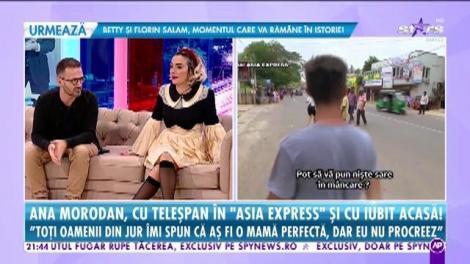 """""""Mă scoteau din sărite"""". Ana Morodan și Adrian Teleșpan, dezvăluiri despre """"Asia Express"""". Ce au spus despre criticile celorlalți concurenți"""