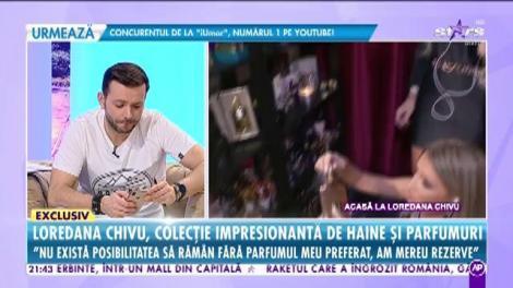 Loredana Chivu, colecție impresionantă de haine și parfumuri: Am în casă  peste 400 de parfumuri