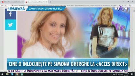 Simona Gherghe intră în concediu prenatal. Cine o înlocuiește pe frumoasa prezentatoare la Acces Direct