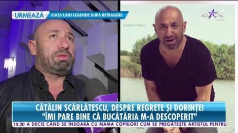 Cătălin Scărlătescu, despre regrete şi dorinţe. Celebrul chef vrea să renunțe la burlăcie