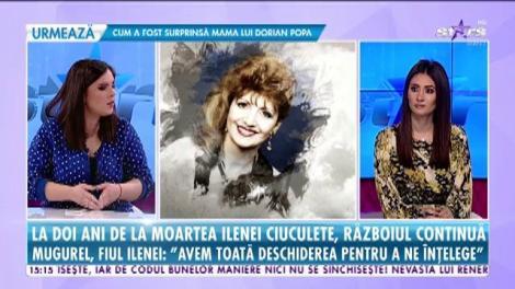 La doi ani de la moartea Ilenei Ciuculete, războiul din familia artistei nu a luat sfârşit
