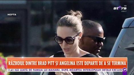 Războiul dintre Brad Pitt şi Angelina Jolie, departe de a se fi încheiat
