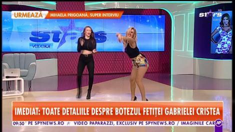 Zizik, provocată la un super-battle de dans. Cum s-a descurcat asistenta sexy de la Star Matinal