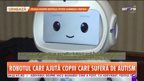 Robotul care ajută copiii care suferă de autism