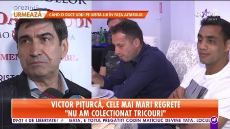 Victor Piţurcă, cele mai mari regrete din cariera sa: Regret că nu am amintiri de pe vremea când jucam