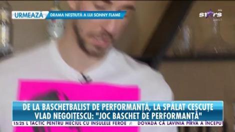 Vlad Negoițescu, de la baschetbalist de performanţă, la spălat ceșcuțe. Regulile unui campion pentru a reuși în afaceri