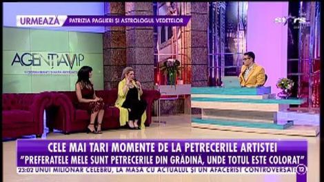 """Minodora, show de excepţie la """"Agenţia VIP""""! Artista organizează cele mai tari bairamuri din showbiz"""