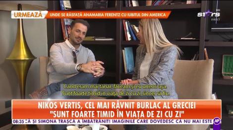 Interviu în exclusivitate cu Nikos Vertis, cel mai râvnit burlac din Grecia. Cum a ajuns unul dintre cei mai cunoscuți artiști din lume