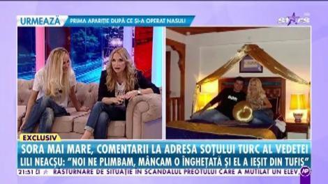 Sora Ancăi Neacşu, comentarii la adresa soţului turc al vedetei!