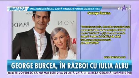 George Burcea, în război cu Iulia Albu. Celebrul designer i-a adresat vorbe urâte Andreei Bălan