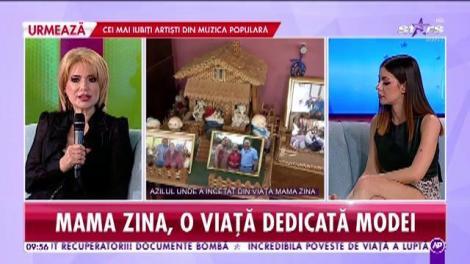 Sicriul cu trupul neînsuflețit al Zinei Dumitrescu a fost depus la capela azilului