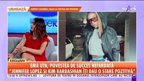 """Ema Uta, povestea de succes """"nefardată""""! Kim Kardashian și Jennifer Lopez s-au lăsat pe mâinile ei"""
