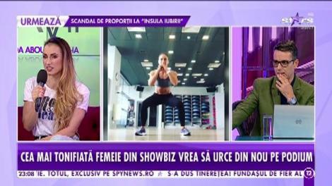 Anca Bucur, cea mai sexy mămică din showbiz. Ce mănâncă Miss Fitness Universe