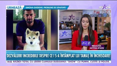 Gabi Tamaş a slăbit şase kilograme în timpul petrecut în arest!