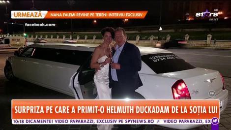 Helmuth Duckadam a primit un cadou inedit din partea soţiei!