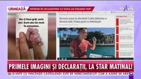Băiatul de oraş, Codin Maticiuc, a devenit tată pentru prima dată!