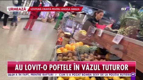 A renunţat la restaurantele de lux în schimbul crenvuştilor din supermarket! Fiica unui mare antrenor român a fost suprinsă în fapt, printre rafturi!