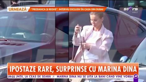 Ce sumă a spart Marina Dina la shopping