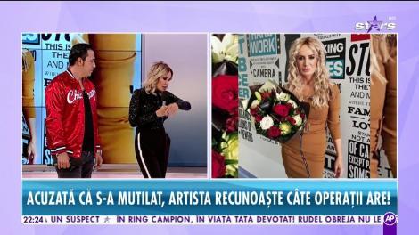 Daniela Gyorfi răspunde tuturor răutăţilor! Artista a recunoscut câte operaţii are!