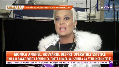 Monica Anghel, adevărul despre operaţiile ei estetice: Mi-am pus botox pentru că toată lumea îmi spunea că sunt încruntată