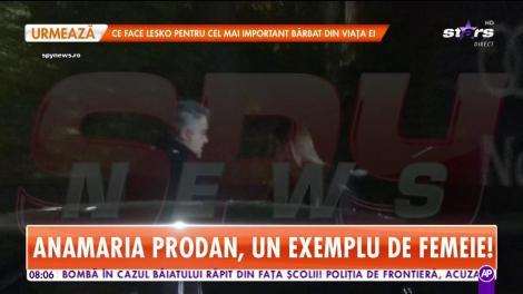 Anamaria Prodan, întâlnire la nivel înalt, la un restaurant de lux din Capitală