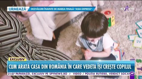 """Silvia de la Vegas, educaţie româno-americană pentru fiul ei! """"Sunt o mamă cu capul pe umeri"""""""