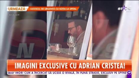 Adrian Cristea, surprins în ipostaze nepotrivite pentru reputația lui