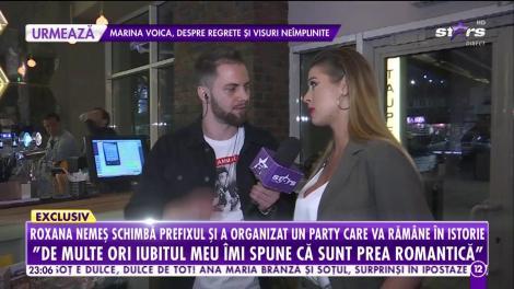 Roxana Nemeș schimbă prefixul și a organizat un party care va rămâne în istorie