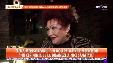 Elena Merișoreanu, din nou pe mâinile medicilor: Mi-am rupt ligamentele și prima operație nu a fost reușită