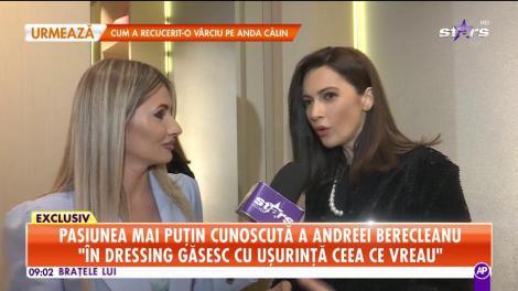 Pasiunea mai cunoscută a Andreei Berecleanu