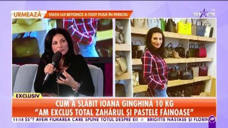 Transformare incredibilă! Ioana Ginghină a slăbit 10 kilograme într-o lună: Am exclus total zahărul și pastele făinoase
