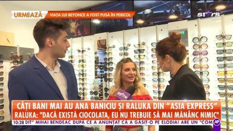 """Câți bani mai au Ana Baniciu și Raluka din """"Asia Express"""""""
