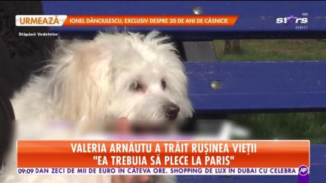 Valeria Arnăutu a trăit rușinea vieții: De răzbunare a ros o geantă nou-nouţă, de piele, a prietenei mele