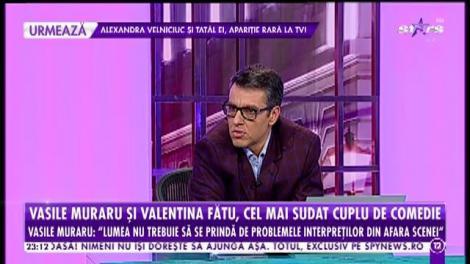 Vasile Muraru şi Valentina Fătu, cel mai sudat cuplu de comedie
