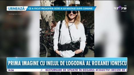 Roxana Ionescu, cerută în căsătorie de Tinu Vidaicu