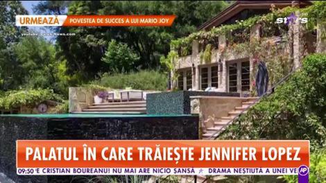 Jennifer Lopez, palat de 40 de milioane de dolari! Are câte un şemineu aproape în fiecare cameră