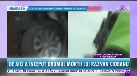 Reconstituirea întregului traseu al lui Răzvan Ciobanu. Ce s-a întâmplat în momentul impactului