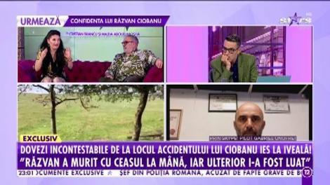 Răzvan Ciobanu, jefuit înainte sau după accident? Ceasul designerului, dispărut ca prin minune de la mână!