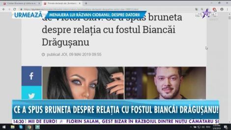 """Primele declarații ale Ralucăi """"Bombardiera"""" după despărțirea de Victor Slav"""