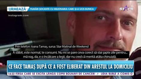 Ce face Gabriel Tamaş după ce a fost eliberat din arestul la domiciliu. În ce ipostaze a fost fotografiat