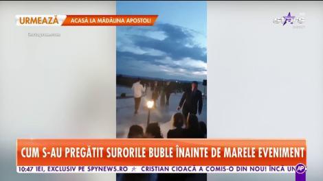 Lidia Buble, în lacrimi la nunta surorii sale