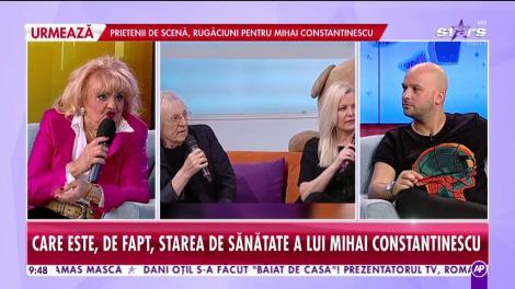 """Camelia Mitoșeru, în lacrimi după ce a aflat că Mihai Constantinescu este în moarte cerebrală: """"Muzica lui n-o să moară niciodată!"""""""