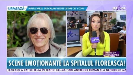 Simona Secrier, soția lui Mihai Constantinescu, nu s-a dezlipit de lângă el! Ultimele informații despre starea artistului