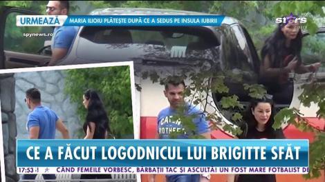 Star News. Florin Pastramă, scandal cu un milionar celebru. Logodnicul lui Brigitte a chemat poliţia