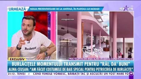 Cele mai urmărite femei din România, în exclusivitate la Răi da' buni. Alina Ceușan: Am făcut costumele de baie special pentru petrecerea de burlăcițe