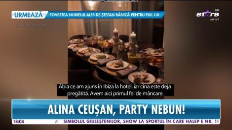 Star News. Alina Ceușan, party pe insula celor bogaţi. Imagini de la cea mai tare petrecere de burlăcițe