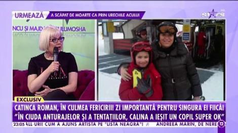 Agenția Vip. Surprize inedite de ziua Calinei, fata Catincăi Roman